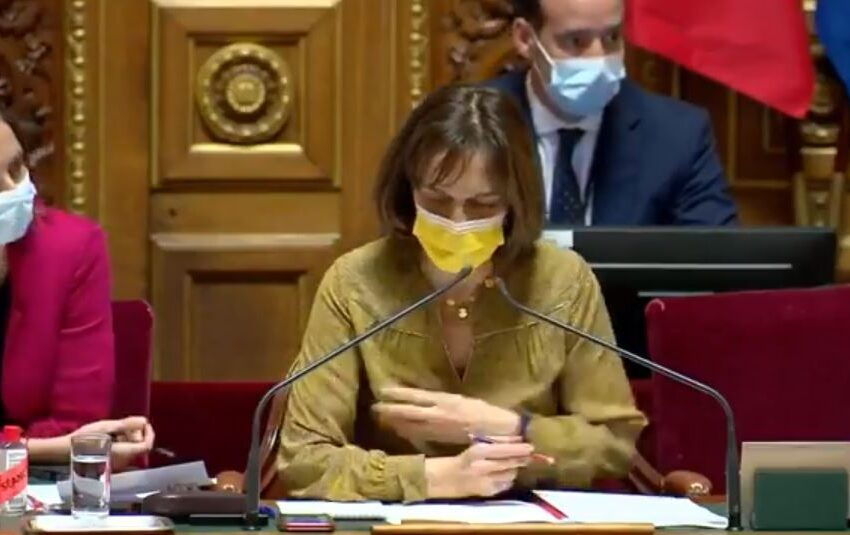 France's Senate Rejects BS 19 Vaxx Mandates With Overwhelming Majority: 262 Senators Voted Against and 64 Senators Shamefully Voted in Favour