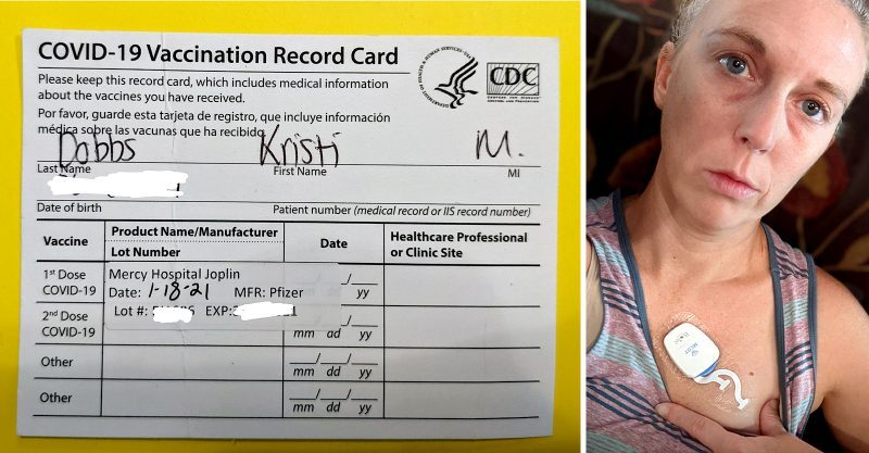 Woman Injured by BS 19 Vaxx Pleads With Health Agencies for Help, As Local News Agency Kills Story After Pressure From Pfizer